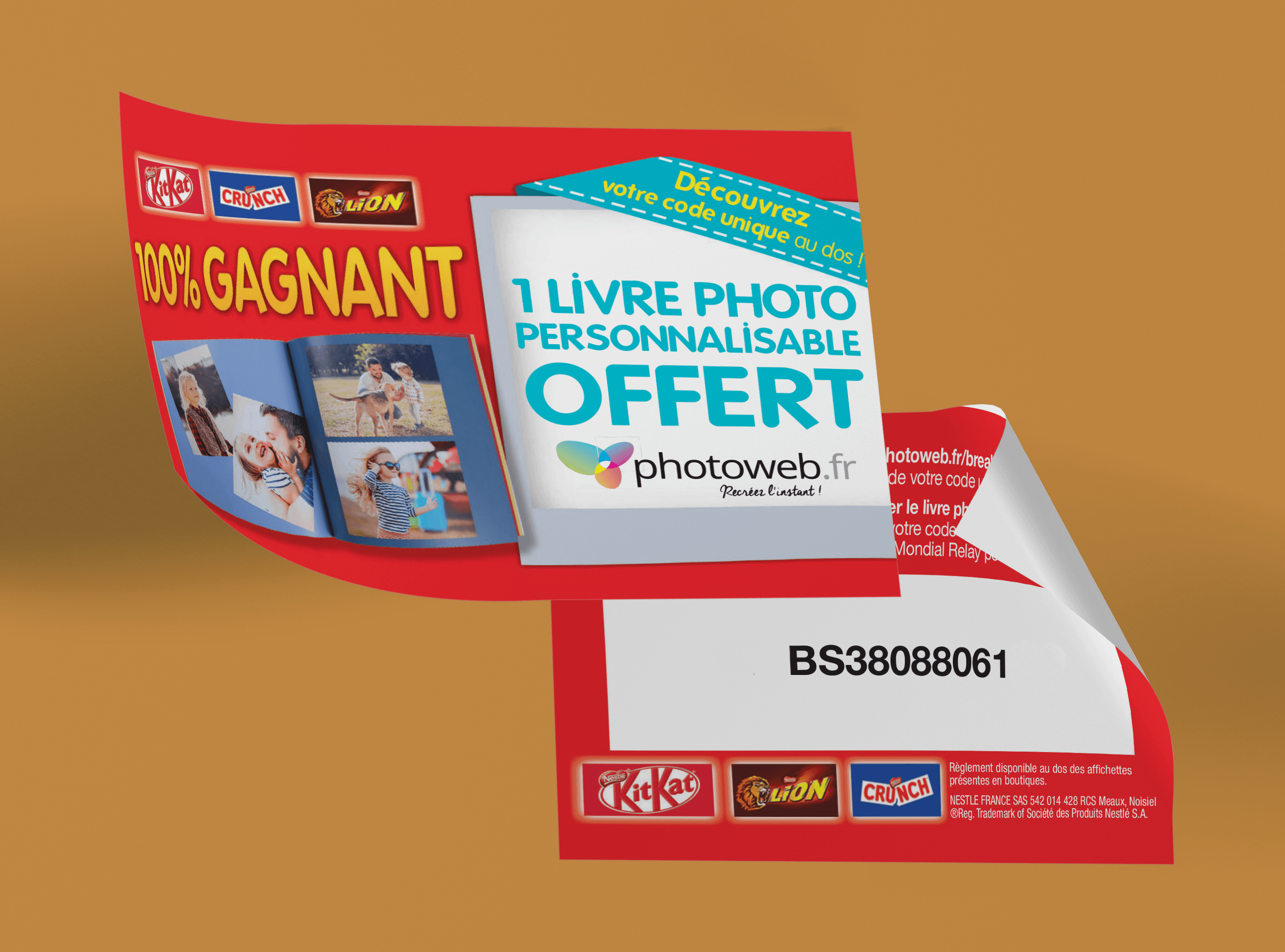 Nestlé stickers