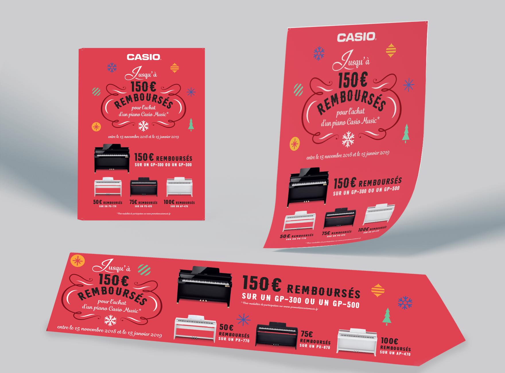 Casio Music print