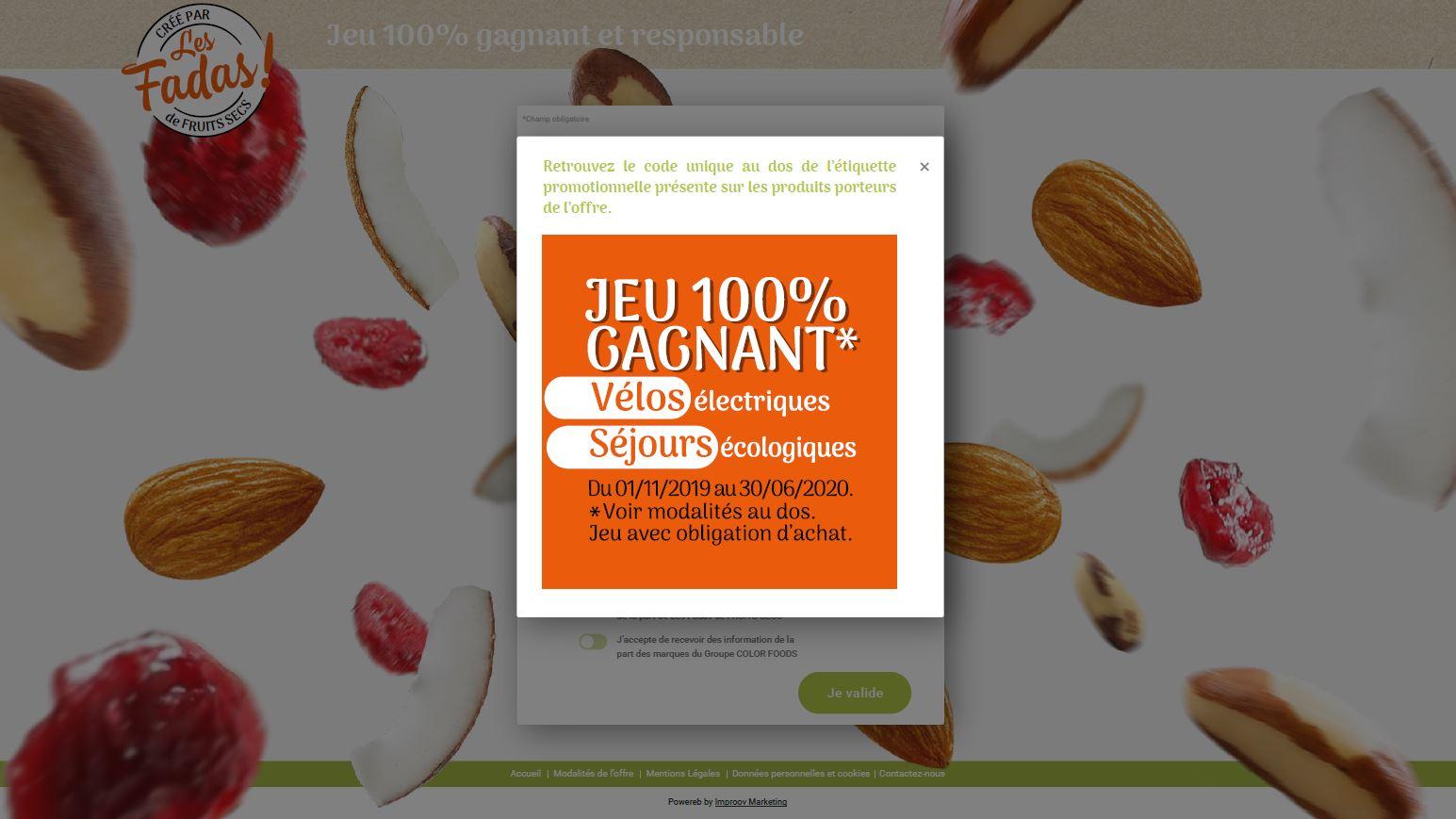 Color Foods Les Fadas de Fruits Secs stickers