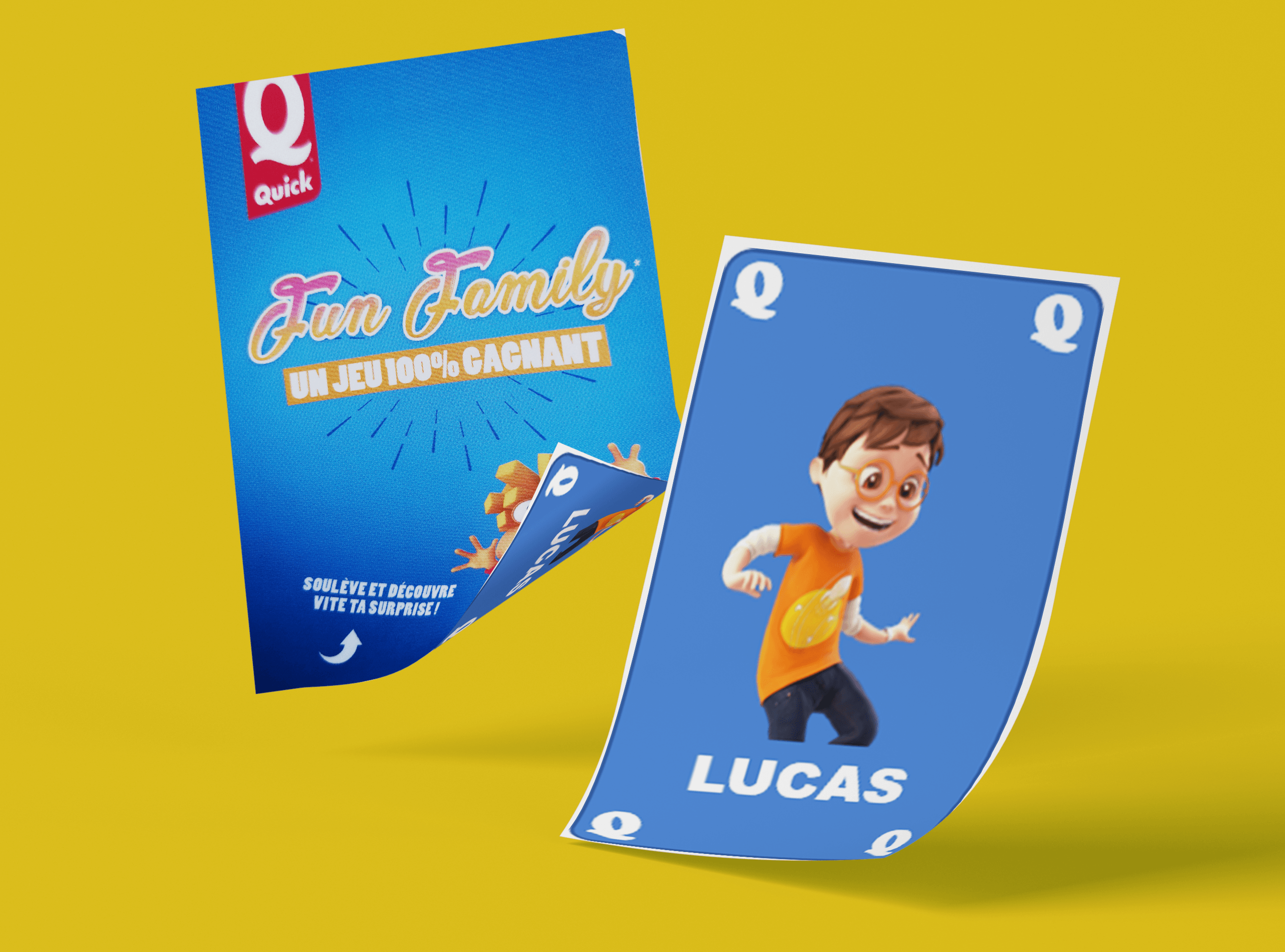 Quick Fun Family cartes de jeu