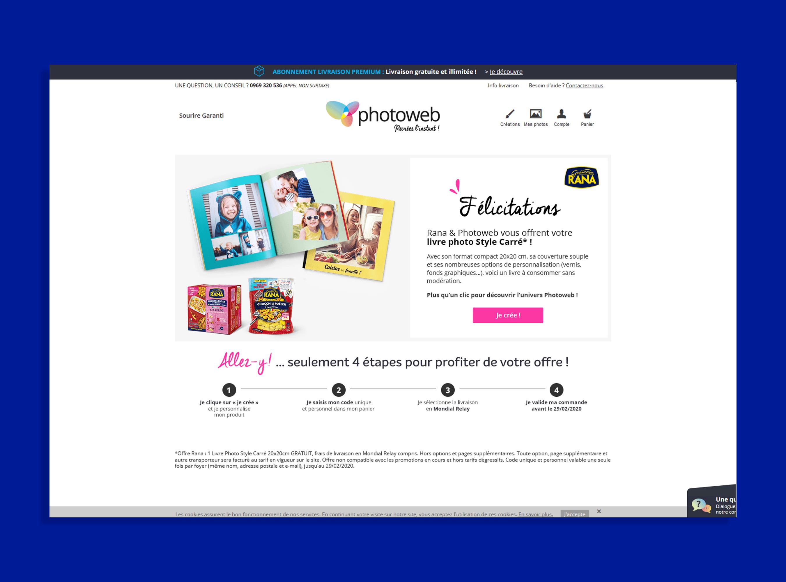 Giovanni Rana site web