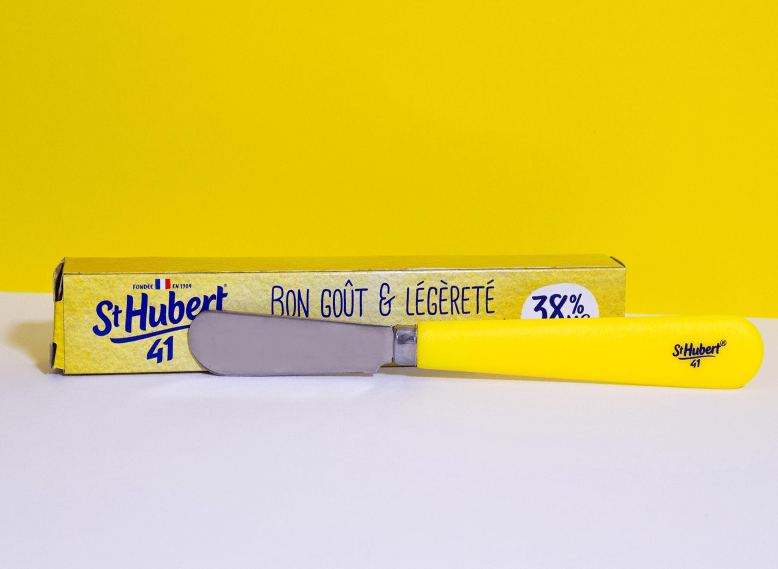 St Hubert 41 couteau à tartiner dotation