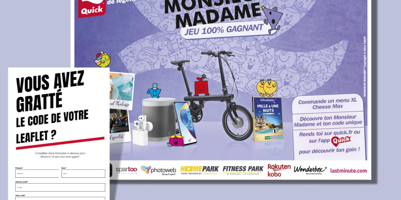 Quick Monsieur/Madame